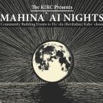 KIRK's Mahina'ai Night Slated for Saturday, Aug. 29