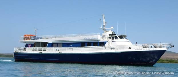 Molokai Ferry courtesy Lahaina Cruise Company via Maui Council Services.