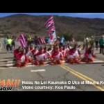 VIDEO: Maui Hālau Honors Mauna Kea Amid TMT Controversy