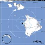 No Advisories After 4.5 Earthquake NW of Kailua-Kona