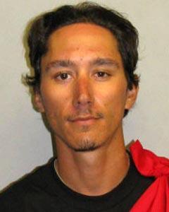 Chase Kahookahi Kanuha, 26, of Kailua-Kona. Photo courtesy Hawaiʻi Island Police Department.