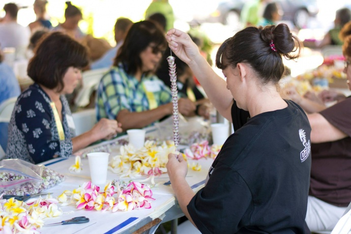 Blossoms for the Brave (5.23.2014). File photo courtesy County of Maui.