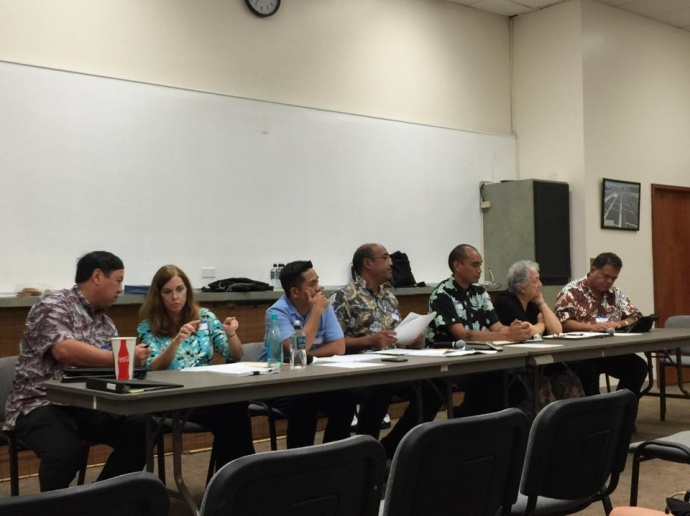 Hawaiʻi Board on Geographic Names (05.27.15)  / Image credit: Tiana Malia Santos.