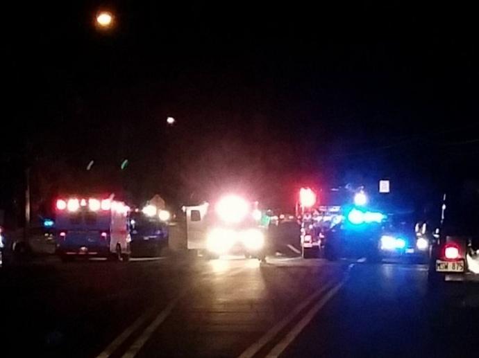Kahului traffic accident, 5.26.15.  Photo credit: Yvette Kitagawa