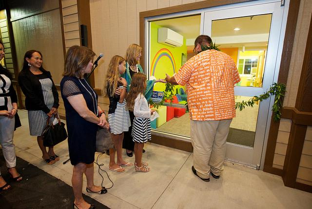 Imua Family Services Grand Opening Celebration, 4/17/15. Photo courtesy: Jeane McMahon via Imua Family Services.