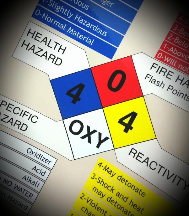 Hazardous materials. Photo by Wendy Osher.