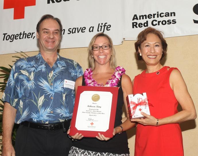 2015 Maui Volunteer of the Year- Rebecca King