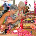 """Annual """"Blossoms for the Brave"""" Lei-Making Event Honors Veterans"""
