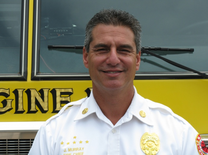 Fire Chief, Jeffrey Murray.