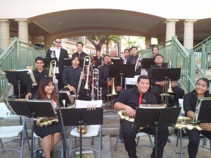 Chop Suey Jazz Orchestra. Photo courtesy of the Chop Suey Jazz Orchestra.