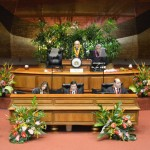 Speaker Souki of Maui Offers Closing Remarks as Session Adjourns