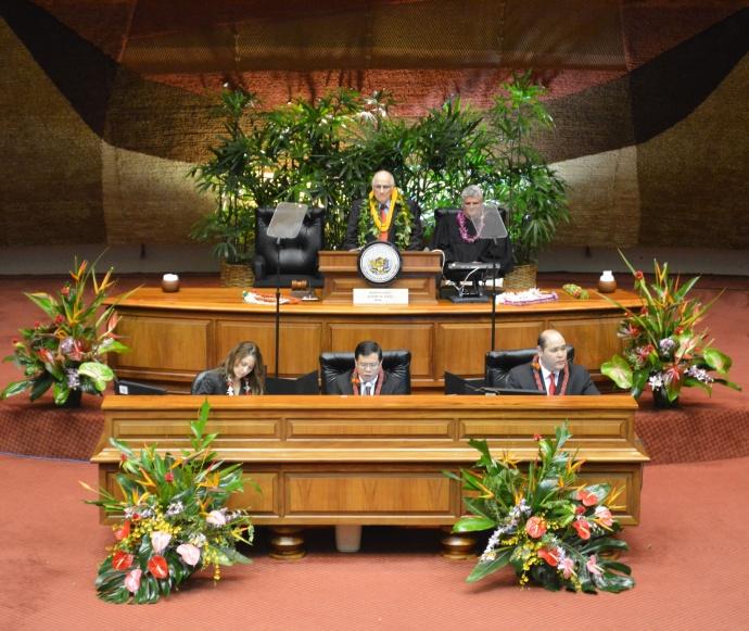 House of Representatives, Hawaiʻi. Closing Day. Courtesy photo.