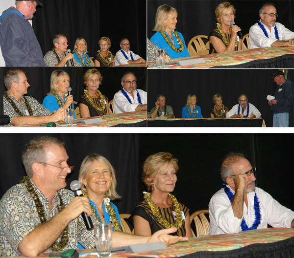 """The speakers at the 2013 """"Masters of Retail Success on Maui."""" Image courtesy MBB."""