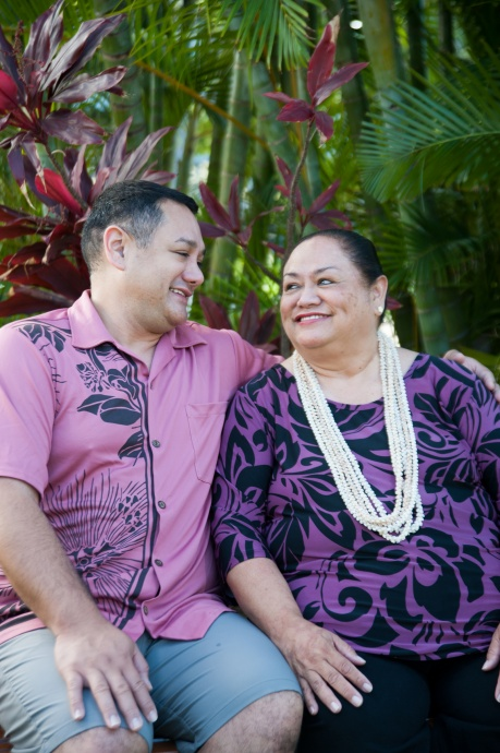 Kamaka Kukona with Hālau O Ka Hanu Lehua. Courtesy photo.
