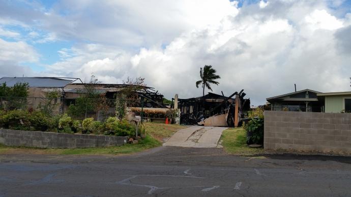 Kea Street house fire aftermath photo by Wendy Osher.jpg