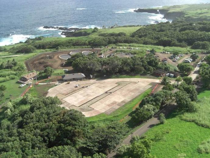 Kīpahulu facilities. Photo courtesy Haleakalā National Park.