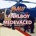 12-year-old Lānaʻi Boy Medevaced After Bicycle Incident