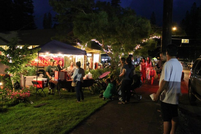 5th Friday Town Party on Lānaʻi. Photo: County of Maui.