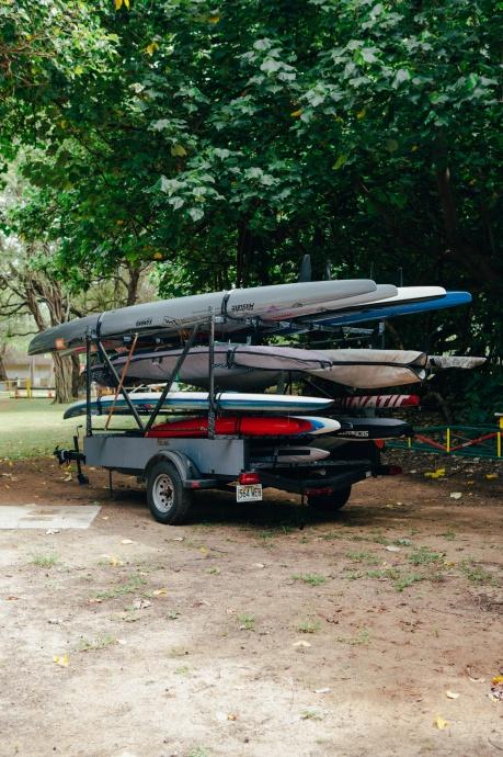 Loading Up for OluKai Ho'olaule'a Photo Credit to Mark Kushimi