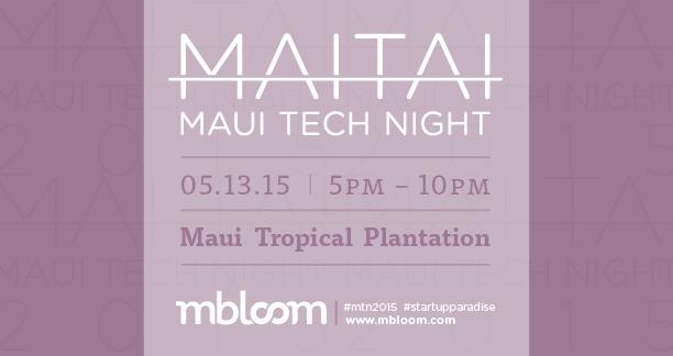 MaiTai Tech Night 2015.