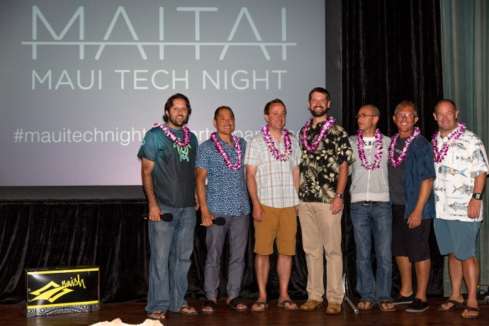 Maui Tech Night - Winner of Pitch Competition with Judges