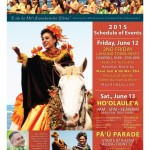 Pā'ū Parade & Hoʻolauleʻa to Kick Off at Lahaina Town Party
