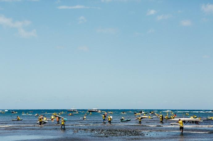 OC 1 Race OluKai Ho'olaule'a Photo by Mark Kushimi