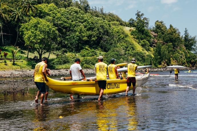 Paddlers prepare for race OluKai Ho'olaule'a