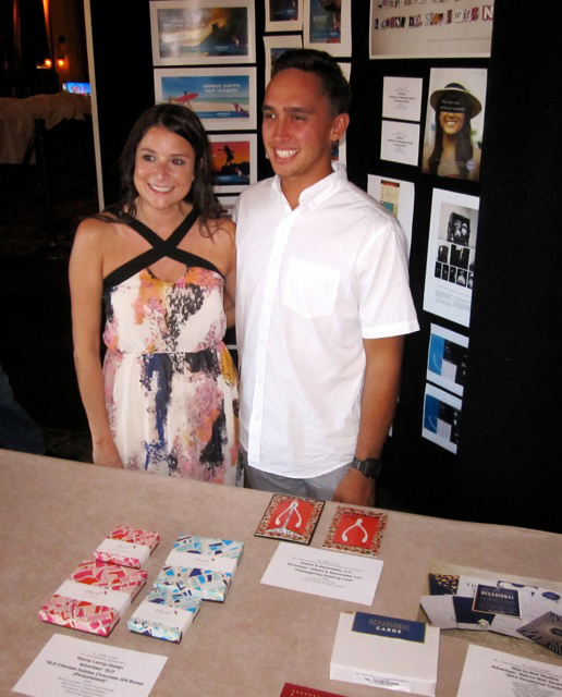 Gilbert & Associates' Amy Mendolia and Shane Fontanilla. Courtesy photo.