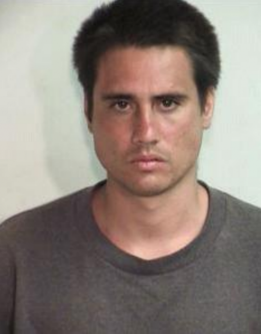 Leif VALDEZ also known as Lucas Rauh,  Photo credit: Maui Police Department.