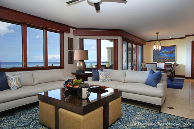 One of the newly re-designed penthouses at Wailea Beach Villas. Courtesy photo Destination Resorts.