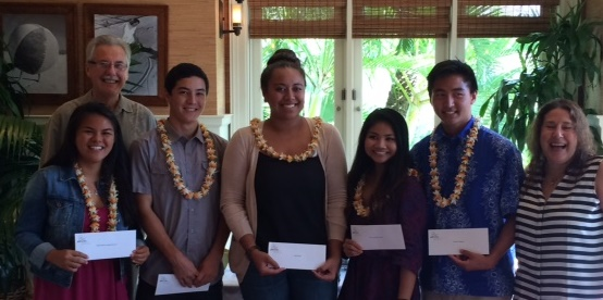 WCA Scholarship Winners 2015