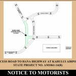 Airport Access Road Traffic Advisory