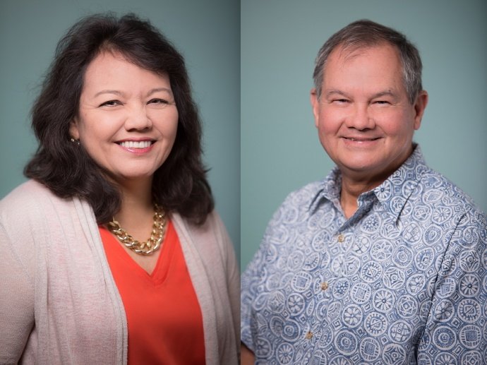 Harrilynn Kameʻenui and Edwin Petteys. Courtesy photo.