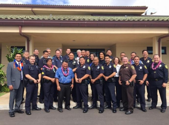 5th Crisis Intervention Team graduation. May 2015. Courtesy photo.
