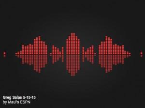 Lets Talk Sports. Kanoa Leahey interviews Greg Salas. 5.15.15. Click to listen.