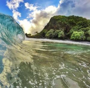 Hāmoa Beach. File photo credit: Kapena Kalama.