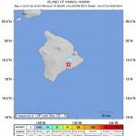 No Advisories After Prelim 3.6 Earthquake Near Volcano