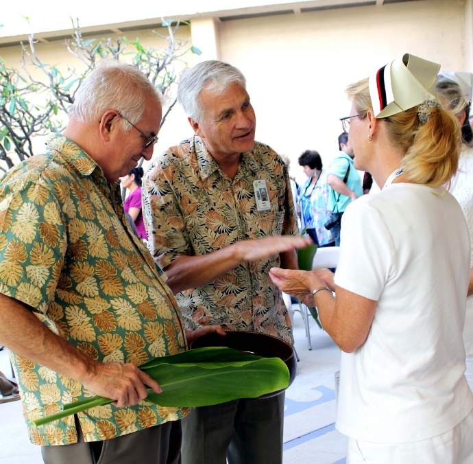 MMMC Celebrates its Nurses with Week of Activities Culminating in the Annual Blessing of the Hands. Courtesy photo.