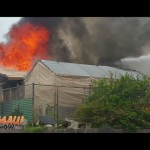 VIDEO: 11 Displaced by House Fire on Kea Street in Kahului