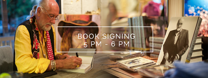 The evening begins with a book signing with Mick Fleetwood at Fleetwood's General Store. Mick will sign books, CDs, LPs and other items from 5 to 6 p.m.