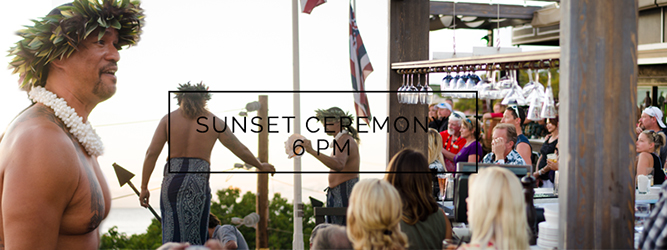 The evening will continue on the rooftop at 6 p.m. with Vene, Hawaiian Kumu, and in-house Scottish Bag Piper, Roger McKinley performing a sunset ceremony, a homage to Hawaiʻi and Mick's Scottish roots.