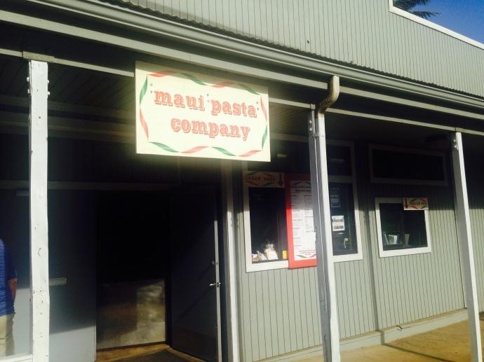 Maui Pasta Company, Waikapū. Photo by Brandee Carvalho.