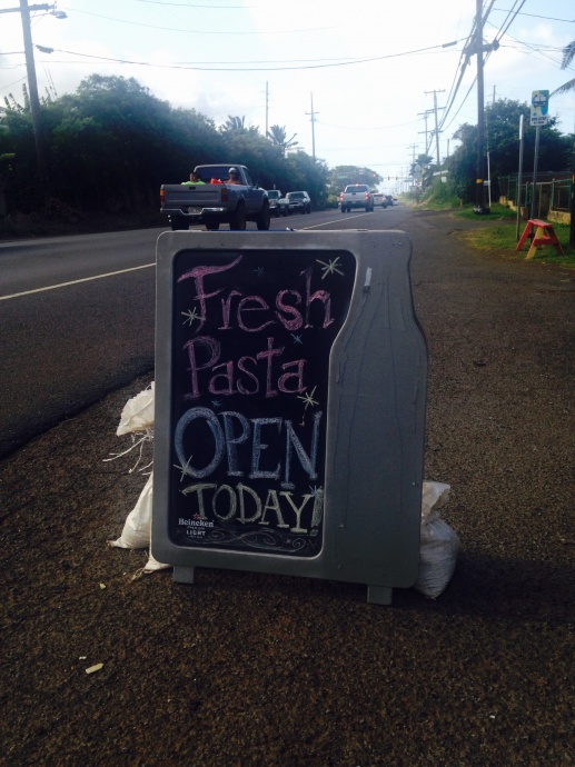 Maui Pasta Company, Waikapū. Photo by Brandee Carvalho.