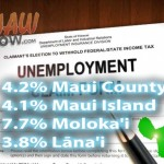 Maui County's Unemployment Rate Lower Than US Average