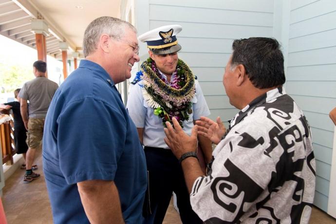 United States Coast Guard Station Maui Hawaii Change of Command Ceremony (6.8.2015)