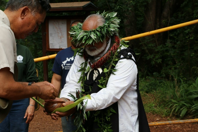 New State Recreational Area on Maui Caters to Mountain Bikers. Kahakapao Recreational Area Grand Opening. Photos courtesy Hawaiʻi State Department of Land and Natural Resources.