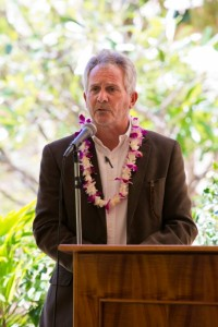 Maui Region Board chair Avery Chumbley. Bill signing ceremony at Maui Memorial Medical Center. (06.10.15) Photo credit: Ryan Piros/County of Maui.