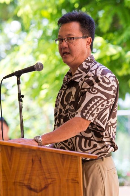 Maui Memorial Medical Center's Wesley Lo.  Bill signing ceremony at Maui Memorial Medical Center.  (06.10.15) Photo credit: Ryan Piros/County of Maui.