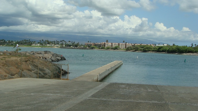 Kahului Harbor, photo by Wendy Osher.